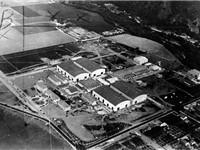 Warner Bros. - First National Studios, Burbank, circa 1928.