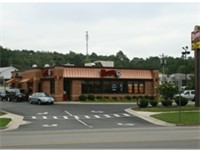 Wendy's freestanding unit in Hillsborough, North Carolina.