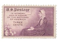 1934 Whistler's Mother (stamp)
