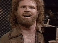 As Gene Frenkle of Blue  yster Cult in the Saturday Night Live sketch More Cowbell