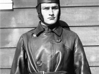 William Wellman as a flight instructor at Rockwell Field, San Diego (1919)