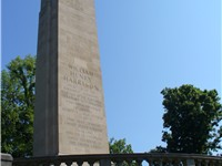 Harrison's tomb and memorial in North Bend, Ohio