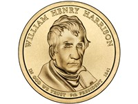 Harrison's Presidential $1 Coin