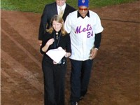 Willie Mays on September 28, 2008