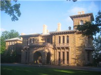 Prospect House, located in the center of Princeton's campus, was Wilson's residence during his term