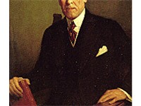 Official White House portrait of Woodrow Wilson