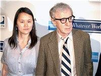 Soon-Yi Previn and Allen at the 2009 Tribeca Film Festival.