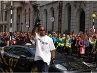 Xzibit at the Gumball 3000 Rally, London 2007.