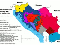 Yugoslav wars, fronts in 1993.
