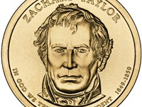 Presidential Coin of Taylor