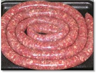 Raw Boerewors.