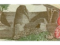 Great Zimbabwe as featured on the defunct $50 note