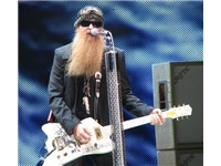 Billy F. Gibbons of ZZ Top, Molson Amphitheatre, Toronto