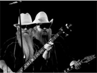 Billy F. Gibbons and Dusty Hill in 1983.