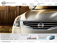 nissan official website