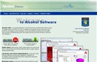 alcohol-soft.com Homepage Screenshot