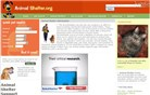 animalshelter.org Homepage Screenshot