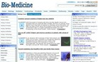 bio-medicine.org Homepage Screenshot