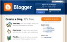 blogger.com Homepage Screenshot