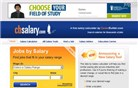 cbsalary.com Homepage Screenshot