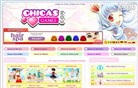chicasgames.com Homepage Screenshot