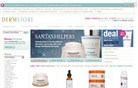 dermstore.com Homepage Screenshot