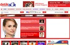 detikhot.com Homepage Screenshot