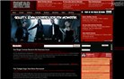 dreadcentral.com Homepage Screenshot