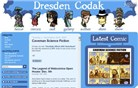 dresdencodak.com Homepage Screenshot