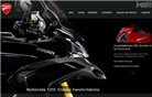 ducati.com Homepage Screenshot