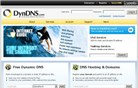 dyndns.com Homepage Screenshot