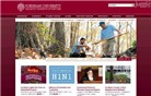 fordham.edu Homepage Screenshot