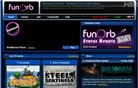 funorb.com Homepage Screenshot