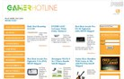 gamerhotline.com Homepage Screenshot