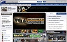 gametrailers.com Homepage Screenshot