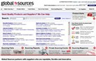 globalsources.com Homepage Screenshot