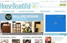 housebeautiful.com Homepage Screenshot