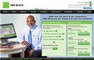hrblock.com Homepage Screenshot