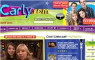 icarly.com Homepage Screenshot