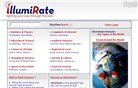 illumirate.com Homepage Screenshot