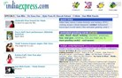 indiaexpress.com Homepage Screenshot