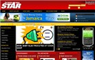 jamaica-star.com Homepage Screenshot