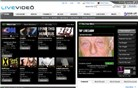 livevideo.com Homepage Screenshot