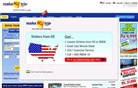 makemytrip.com Homepage Screenshot