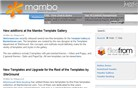 mamboserver.com Homepage Screenshot