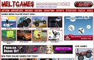 meltgames.com Homepage Screenshot