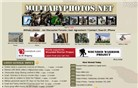 militaryphotos.net Homepage Screenshot