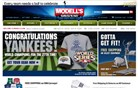 modells.com Homepage Screenshot