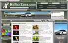 mofunzone.com Homepage Screenshot