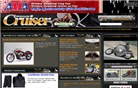 motorcyclecruiser.com Homepage Screenshot